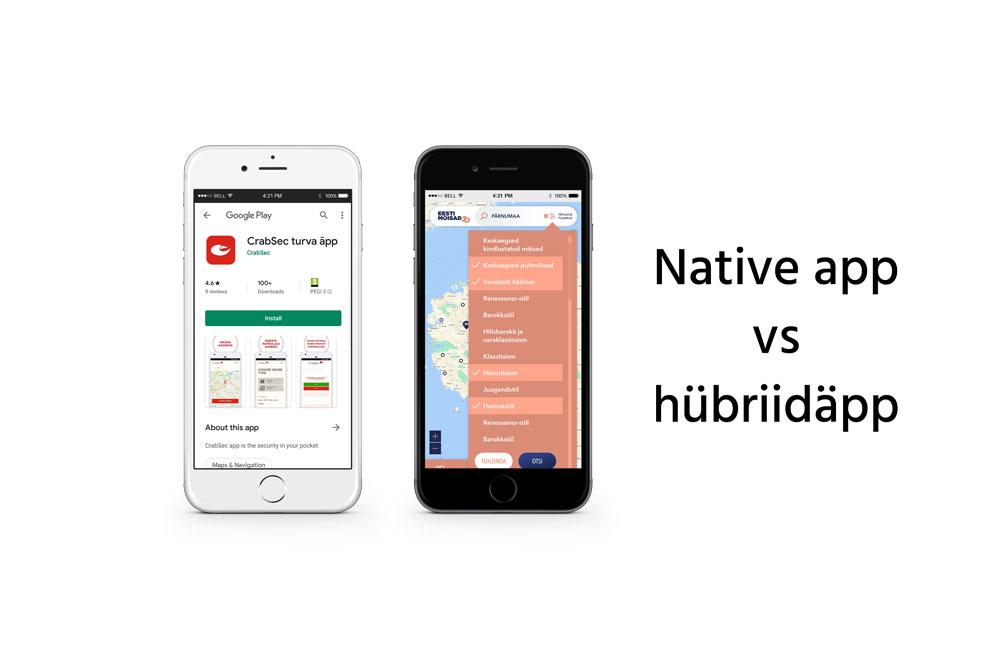 native ja hübriidäpp